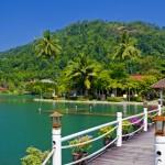 Del av resorten Klong Prao Resort - Koh Chang