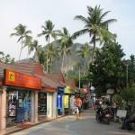 Shoppinggata i Ao Nang