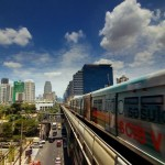 Skytrain i Bangkok