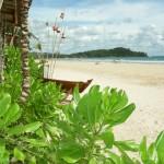 Stranden i Klong Dao - Koh Lanta